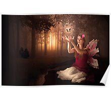 Flower Faerie Poster