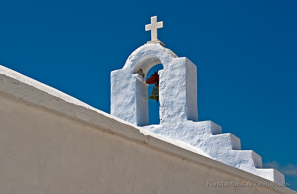 Blue & White by Konstantinos Arvanitopoulos