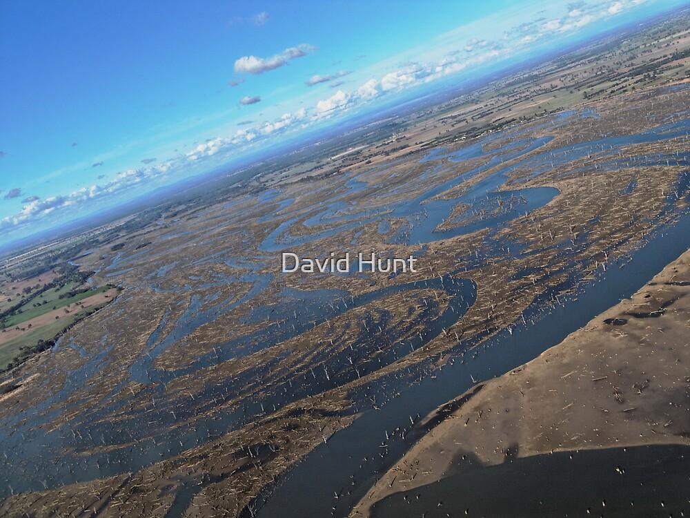 Mud Flats Of Lake Mulwala By David Hunt Redbubble