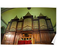 0026  The Hill Organ Poster
