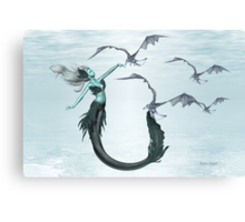 Call of the Sea Dragons Canvas Print