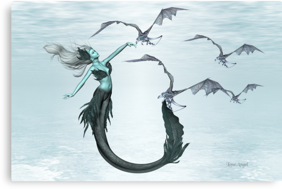Call of the Sea Dragons by LoneAngel