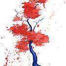 Little Zen Tree 293 by Sean Seal