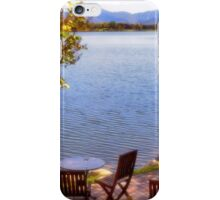Table For Two - Mirror Lake iPhone Case/Skin