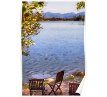 Table For Two - Mirror Lake Poster