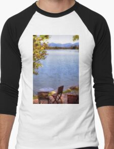 Table For Two - Mirror Lake Men's Baseball ¾ T-Shirt