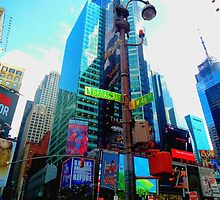 New York, Broadway and Times Square by chiaraber