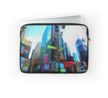 New York, Broadway and Times Square Laptop Sleeve