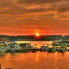 Sundown at the Marina by Chelei