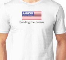 "TheAppBuilder ""Building The Dream"" Unisex T-Shirt"