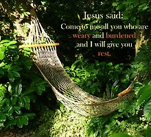 Matthew 11:28  'Come to me all you who are weary..' by Anna Myerscough