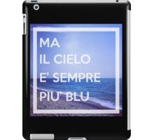 Cielo Blu iPad Case/Skin