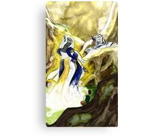 The Goddess Canvas Print