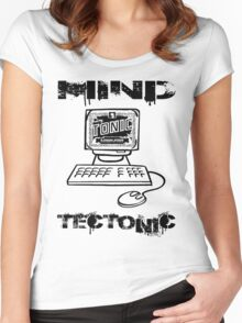 MIND TECTONIC Women's Fitted Scoop T-Shirt