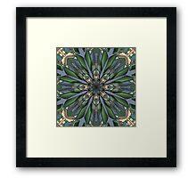 Digital Flower Framed Print