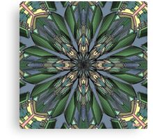 Digital Flower Canvas Print