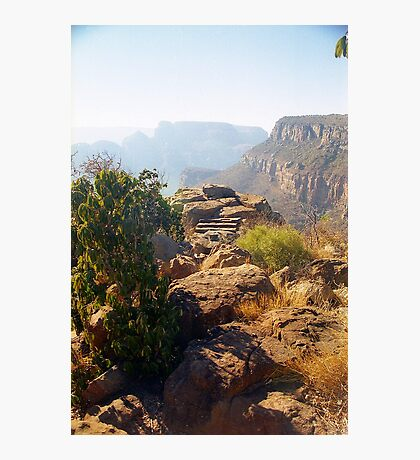 Blyde Canyon Rocks  Photographic Print