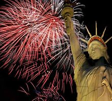 Happy Birthday America by Marie Luise  Strohmenger
