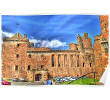 Linlithgow Palace HDR Poster