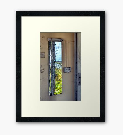 Shattered dreams - Pontin's Holiday Camp, Lytham Framed Print