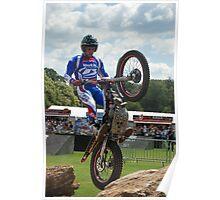 FOS trials bike Poster
