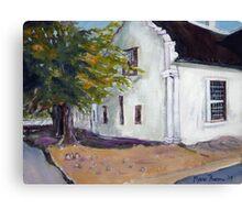 Old Cape House at Malmesbury Canvas Print