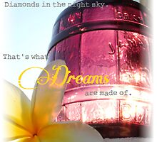 What dreams are made of by Tiffany De Leon