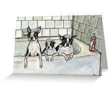 Bathtub Buddies Greeting Card