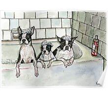 Bathtub Buddies Poster