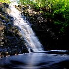 Waterfall At Hunneberg by Mark Williams