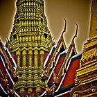 Thai symbol... by Kornrawiee