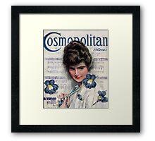 Cosmopolitan Lady I Framed Print