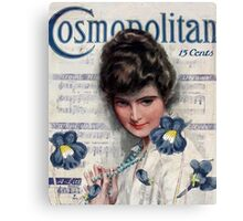 Cosmopolitan Lady I Canvas Print