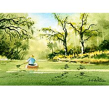 Canoeing The Rivers Of Florida II Photographic Print