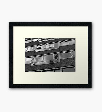 BROKEN BRITAIN Framed Print