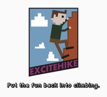 EXCITEHIKE - NES Parody Kids Clothes