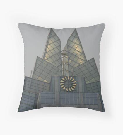 City Lights Appear Throw Pillow