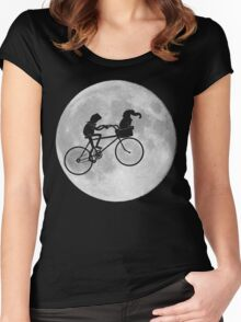Gonzo The Extraterrestrial  Women's Fitted Scoop T-Shirt