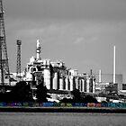Industrial Graffiti by Kim Slater