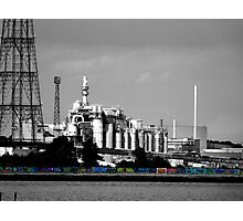 Industrial Graffiti Photographic Print