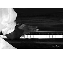 Black and white melody Photographic Print