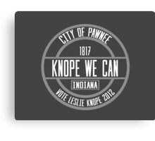 Knope We Can! Canvas Print