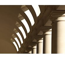 Colonnade - Covent Garden, London Photographic Print