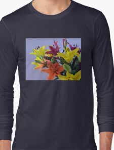 Lily Bouquet Long Sleeve T-Shirt