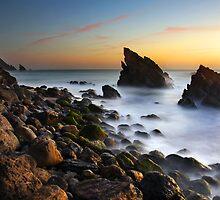 Adraga Beach II by ccaetano