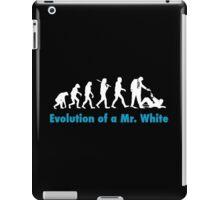Evolution of Mr White iPad Case/Skin