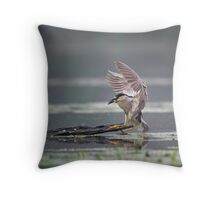 Even in the Rain 2 Throw Pillow