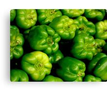 PEPPERS.....  ^ Canvas Print