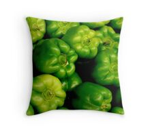 PEPPERS.....  ^ Throw Pillow