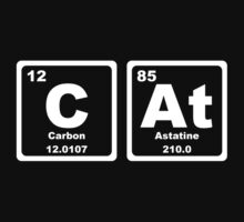 Cat - Periodic Table Kids Tee